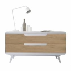 Commode métal bois design Kapriss