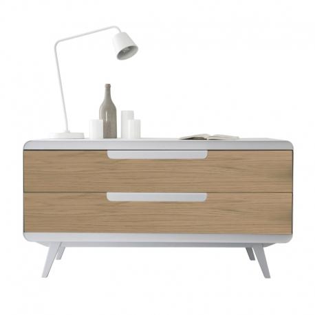 Commode métal bois design Kapriss