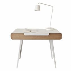 Bureau console métal bois design français KAPRISS
