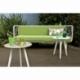Banquette terrasse jardin ou intérieur métal design Jalousy