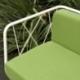 Fauteuil terrasse jardin ou intérieur métal design Jalousy