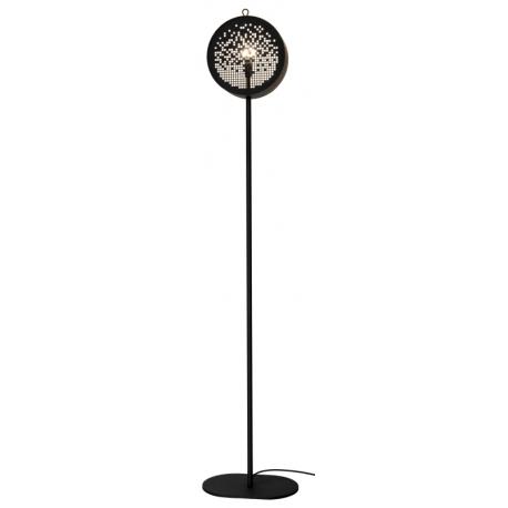 Lampe sur pied au design original et graphique métal Grafic Drimm