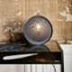Lampe à poser au design atypique en métal Grafic Drimm