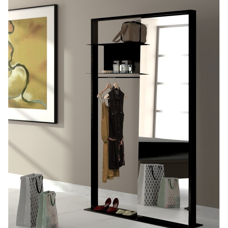 vestiaire design m tal astor amobois. Black Bedroom Furniture Sets. Home Design Ideas