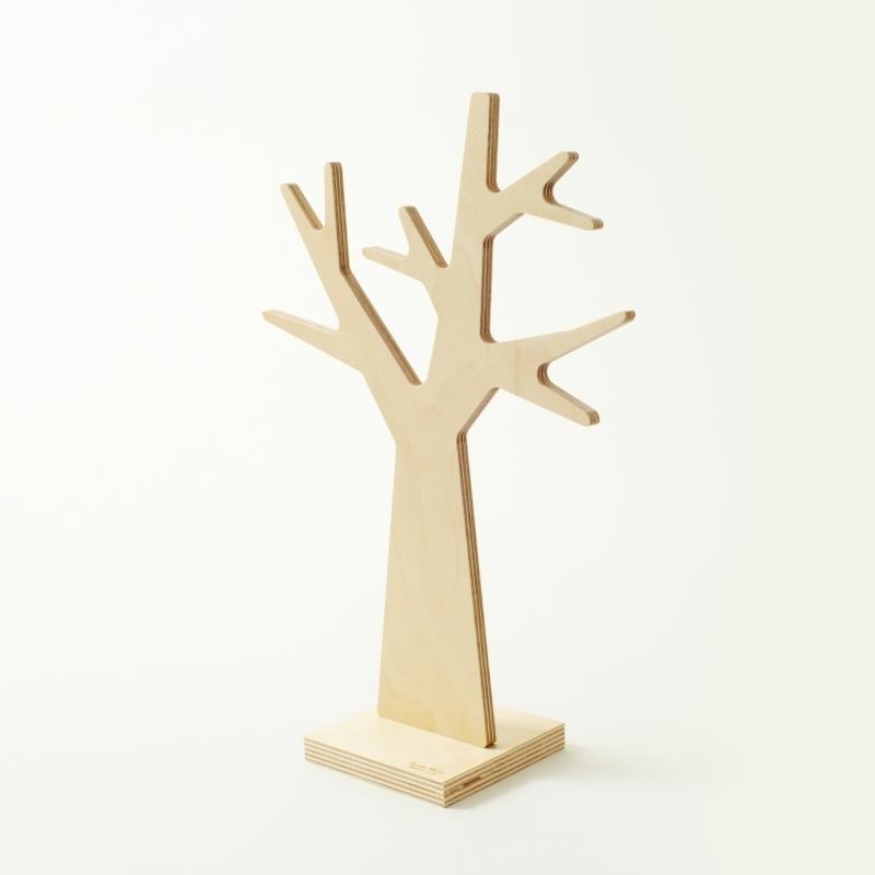 porte bijoux design en bois en forme d 39 arbre amobois. Black Bedroom Furniture Sets. Home Design Ideas