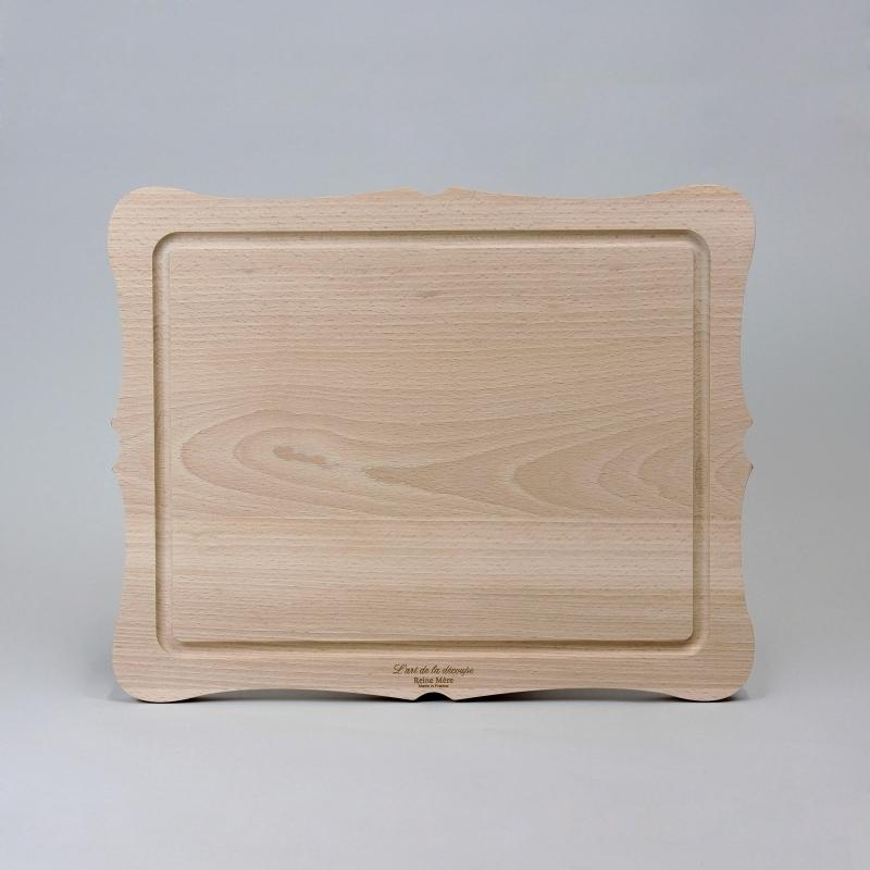 Planche d couper design en bois art de la d coupe amobois for Bois a la decoupe