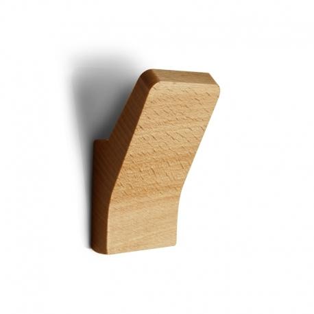 Patère au design épuré en bois