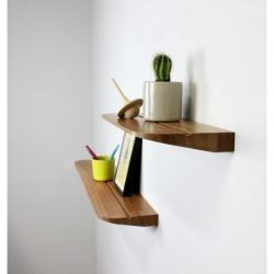 Etagère au design épuré en bois