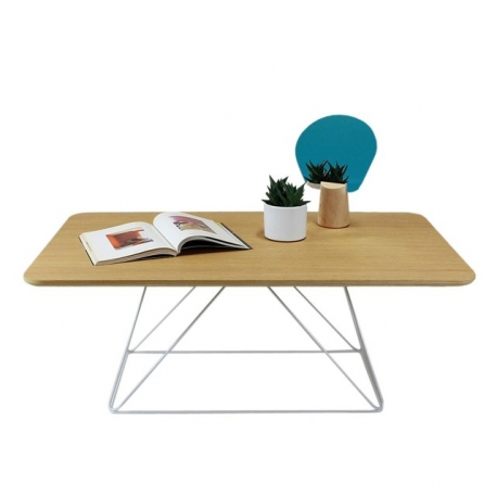 Table basse design bois métal