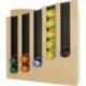 Porte capsule café Nespresso design en bois laqué Made in France