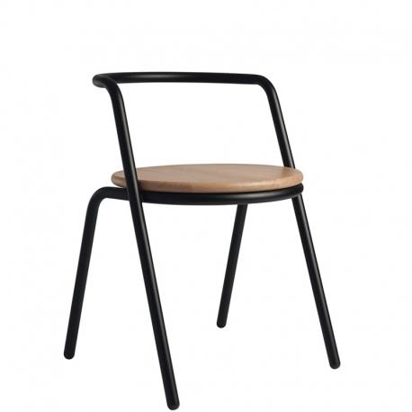 Chaise métal bois design Monsieur et Madame