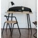 Bureau métal bois design Armand