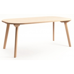 Table de repas design bois ARONDE