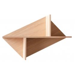 Étagère design en bois de chêne massif français KIM