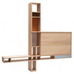 Meuble TV design en bois de fabrication française ORTHO