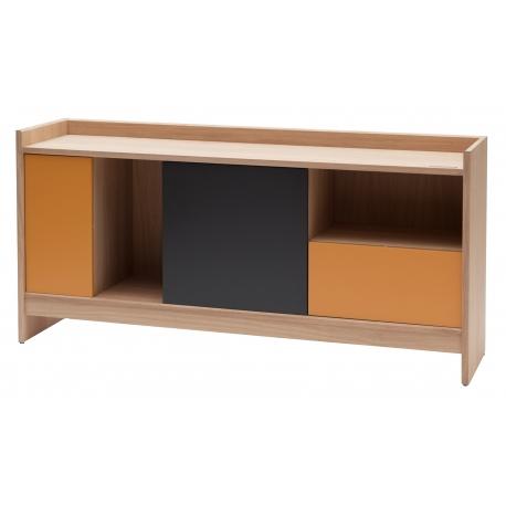 Buffet design modulable en bois massif fabriqué en France BRIC