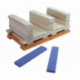 Batibloc color 100 planchettes en bois massif colorées