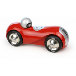 Voiture de course Streamline rouge
