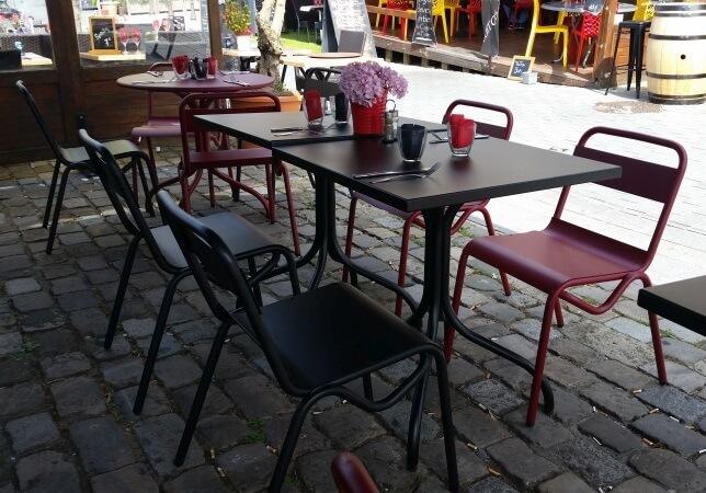 Terrasse bar à vins le Tire Bouchon quai saint-Leu à Amiens
